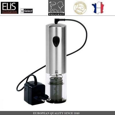 Автоматический штопор ELIS RECHARGEABLE, с зарядным устройством, PEUGEOT