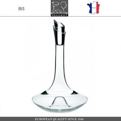 Декантер IBIS, 750 мл, H 27 см, стекло, PEUGEOT VIN