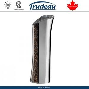 Gravity Plus Автоматическая мельница для специй с LED подсветкой, серый, Trudeau