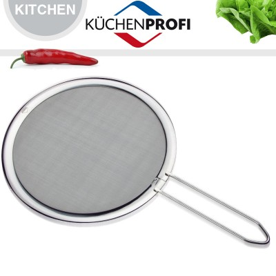 Анти-разбрызгиватель для сковородки, D 28 см, сталь 18/10, Kuchenprofi