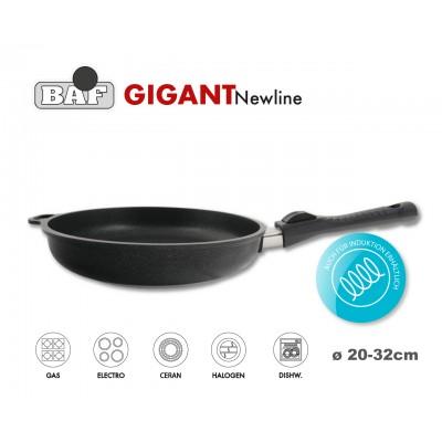 GIGANT Newline Антипригарная сковорода со съемной ручкой, 1.6 литра, D 26 см, BAF, Германия
