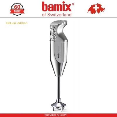 BAMIX M200 Chrome LuxuryLine блендер, хромированный корпус, Швейцария