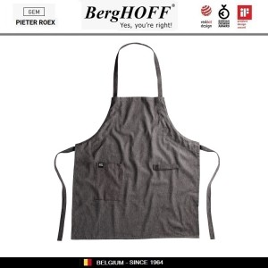 GEM Кухонный фартук с карманом и петлей для щипцов, хлопок, BergHOFF