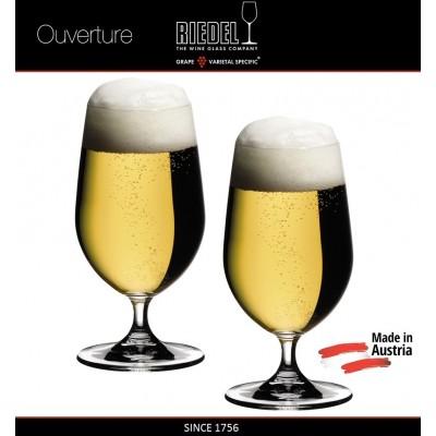 Бокалы для пива Beer, 2 шт, 500 мл, машинная выдувка, OUVERTURE, RIEDEL