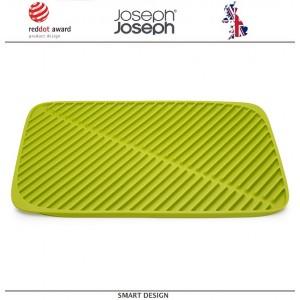 Большой коврик Flume для сушки посуды, зеленый, 43 x 31 см, Joseph Joseph