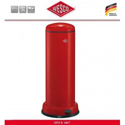 Бак высокий для мусора BASEBOY с внутренним съемным ведром, 30 литров, цвет красный, сталь, Wesco